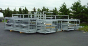 Galvanized Platforms